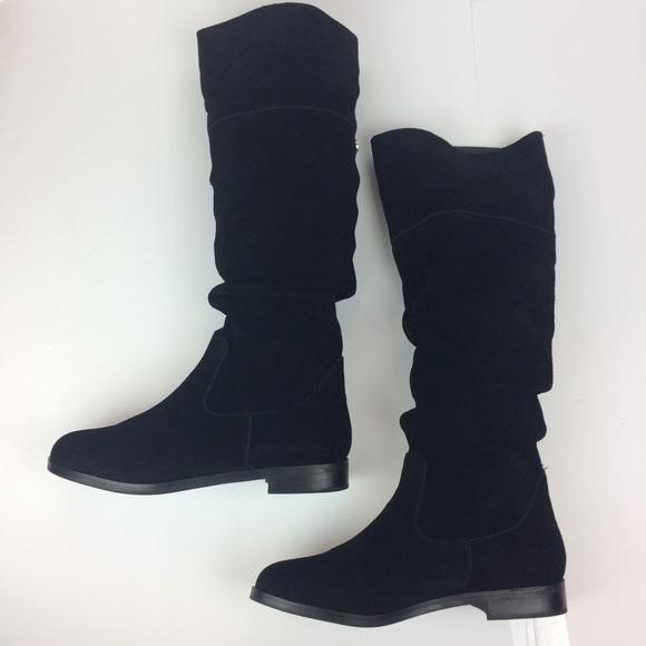 406bbe78ac253a Steve Madden Balen Suede Slouchy Boots. M 5b00874fd39ca21401048010